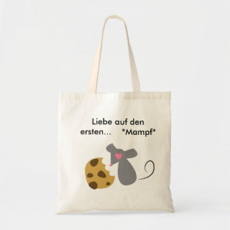 Dear cookie budget tote bag