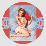 Dear Diary Pinup sticker