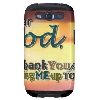 Dear God Galaxy S3 Covers