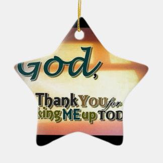 Dear God Christmas Ornament