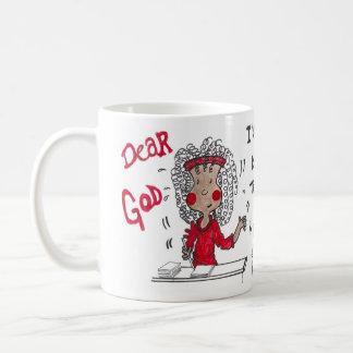Dear God, I'll Keep Trying! Maggie Mug