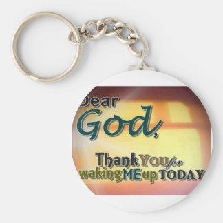 Dear God Keychain