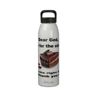 Dear God Liberty Bottle Water Bottle