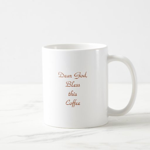 Dear God Mug