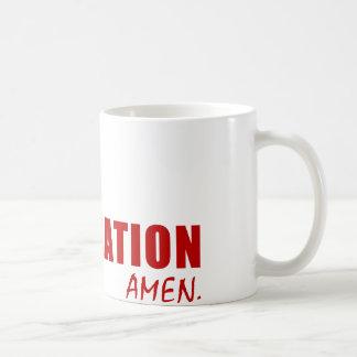 Dear God, One Word. GRADUATION. Amen. Coffee Mugs