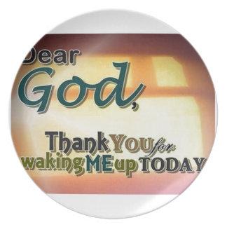 Dear God Plates
