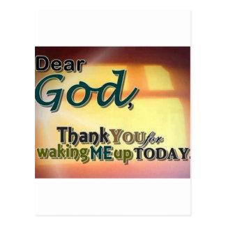 Dear God Post Card