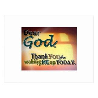 Dear God Postcard