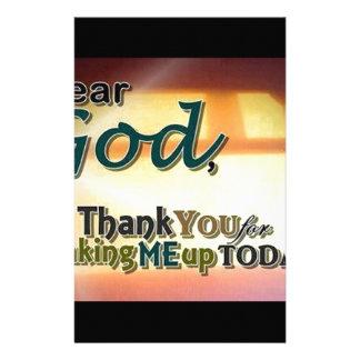 Dear God Stationery
