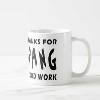 Dear God Thanks For Boomerang Coffee Mug