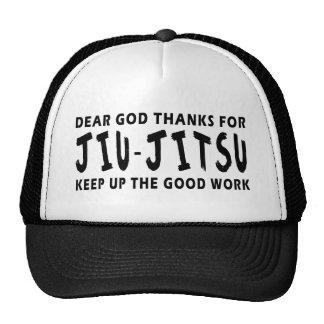 Dear God Thanks For Jiu-Jitsu Keep Up Good Work Mesh Hats