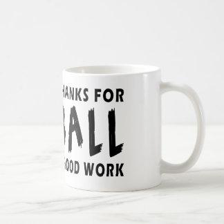 Dear God Thanks For Netball Coffee Mug
