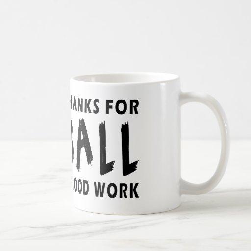 Dear God Thanks For Netball Coffee Mugs