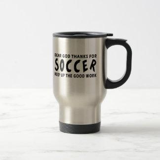 Dear God Thanks For Soccer Mug