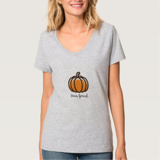 """Dear Gourd"" Pumpkin Design Clothing T-Shirt"