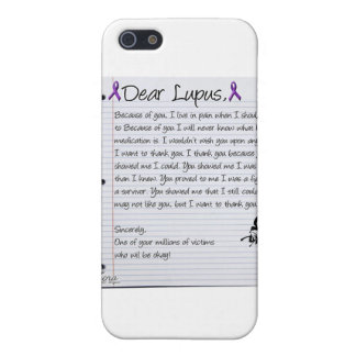 Dear Lupus.. Case For iPhone 5/5S