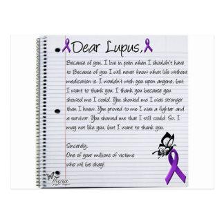 Dear Lupus.. Postcard