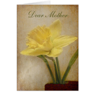 Dear Mother, Happy Birthday Card