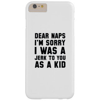 Dear Naps Barely There iPhone 6 Plus Case