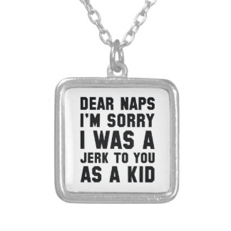 Dear Naps Silver Plated Necklace