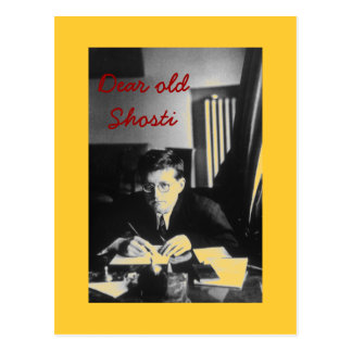 """Dear old Shosti"" Postcard"