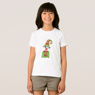 Dear Santa Funny elf kids t-shirt
