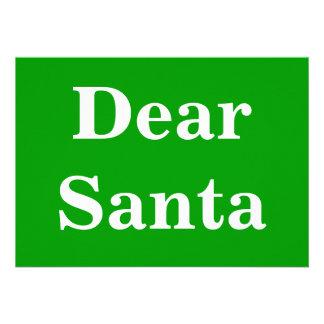 Dear Santa Gr Invites