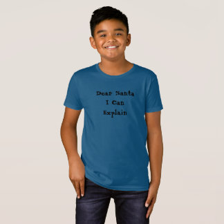Dear Santa I Can Explain, Funny Christmas T-Shirt