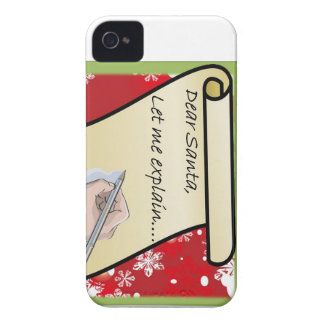 Dear Santa Let Me Explain iPhone 4 Case-Mate Cases