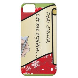 Dear Santa Let Me Explain iPhone 5 Cases