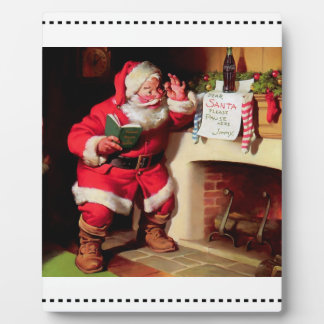 Dear Santa... Plaque