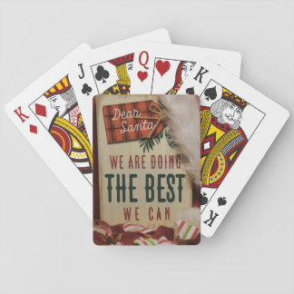 Dear Santa Playing Cards
