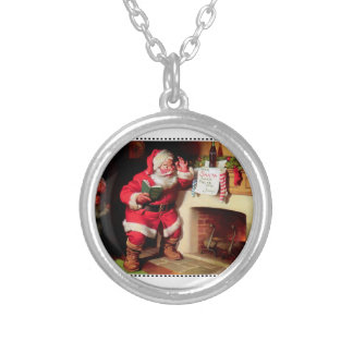 Dear Santa... Silver Plated Necklace
