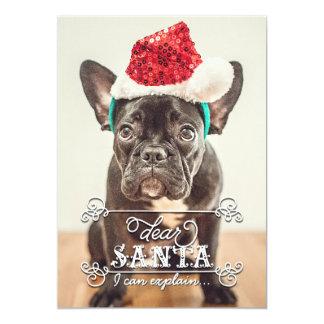 Dear Santa We Can Explain Holidays Photo Cards 13 Cm X 18 Cm Invitation Card