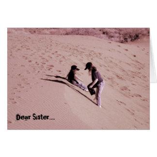 Dear Sister.... Card