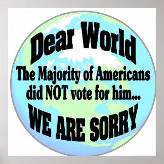 dear world poster