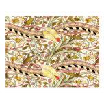 Dearle Daffodil Vintage Floral Postcard