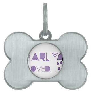 Dearly Beloved Pet Tag