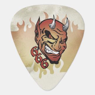 Death 666 Retro Guitar Pick Plectrum