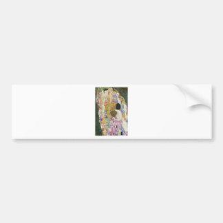 Death and Life by Gustav Klimt Bumper Sticker