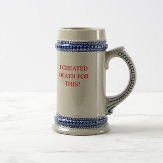 DEATH BEER STEIN
