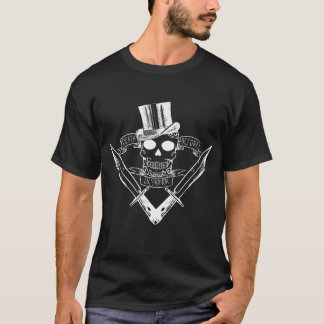 Death Before Dishnor T White Design T-Shirt