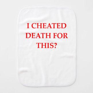 DEATH BURP CLOTH