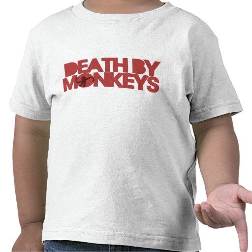 Death by Monkeys T-shirts