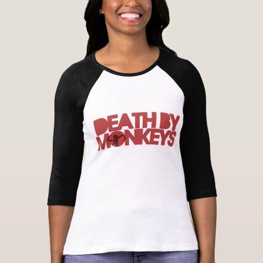Death by Monkeys Tshirt