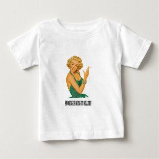 death by smoke yeah baby T-Shirt