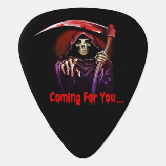 Death Coming For You Guitar Pick