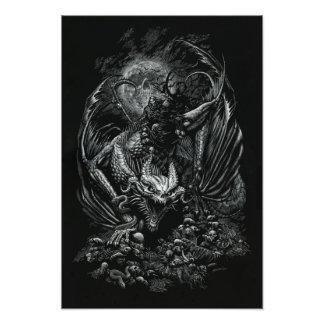 Death Dragon 13x19 Print