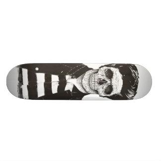 Death fashion skateboard