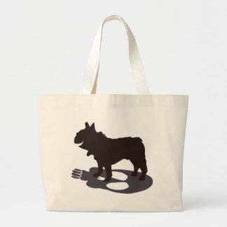 Death French bulldog frenchbulldog-design Bag